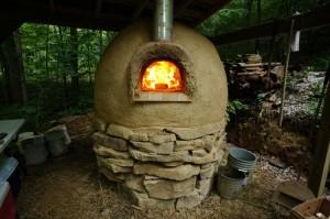 cob-oven-base-plaster